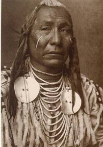 Bild von Postkarte, Photograph by Edward S. Curtis 1908