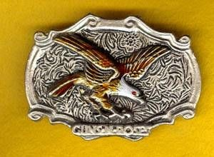 Bild von Coloured Western Buckles